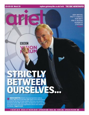 to see an electronic edition of this week's Ariel - Noticeboard for ...