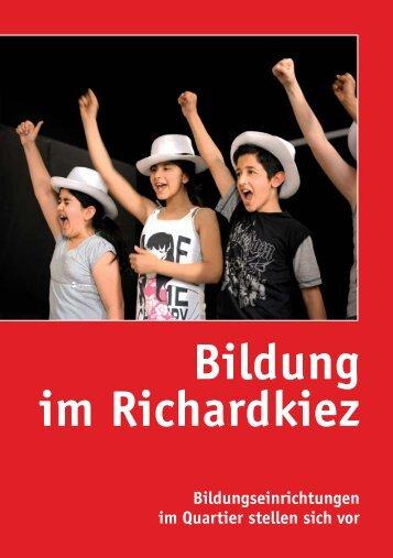 "Broschüre ""Bildung im Richardkiez - AspE e.V."