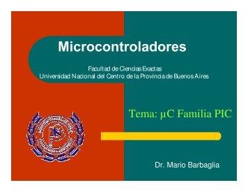Microcontroladores PIC primera parte - Facultad de Ciencias ...