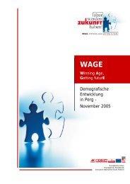 Demografische Entwicklung in Perg - November 2005 - Exabis