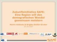 Zukunftsinitiative SAFE: Eine Region will den ... - Exabis