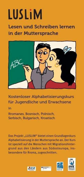 Flyer zum Download - Aspe e.v.