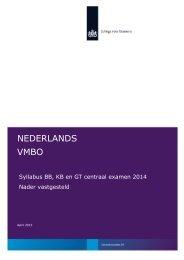 NEDERLANDS VMBO - Examenblad.nl