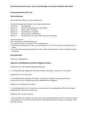 Examenprogramma natuur, leven en technologie ... - Examenblad.nl