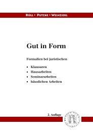 Gut in Form - examinatorium.de
