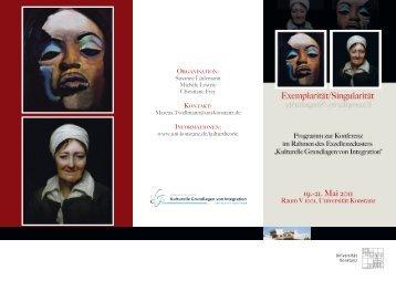 Programm - Universität Konstanz