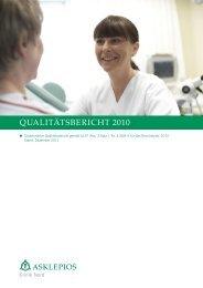 Qualitätsbericht 2010 - Asklepios