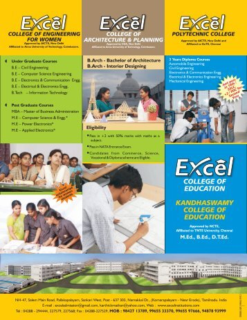 Brochure 2 - Excel Group Institutions