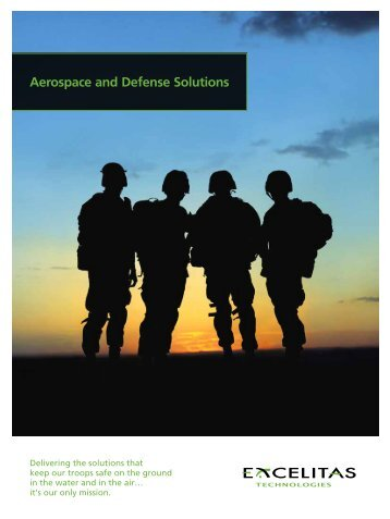 Aerospace and Defense Solutions - Excelitas Technologies
