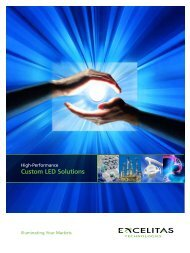 Custom LED Solutions - Excelitas Technologies