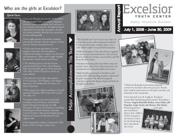 Who are the girls at Excelsior? - Excelsior Youth Center