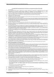 Allgemeine Geschäftsbedingungen für den Hotelaufnahmevertrag ...