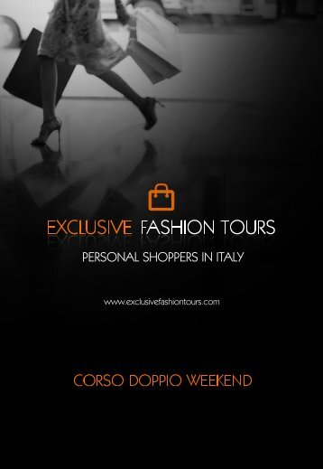 Untitled - Exclusive Fashion Tours