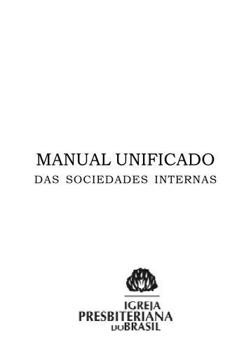 Manual Unificado - Secretaria Executiva IPB