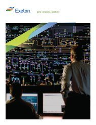 2012 Summary Annual Report Financial Section - Exelon Corporation