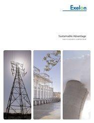 Sustainable Advantage - Exelon Corporation