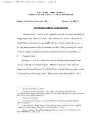 united states of america federal energy regulatory commission