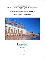 Updated Study Report Salinity and Salt Wedge Encroachment Study ...