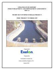 Muddy Run Updated Study Report Vol 2 public - Exelon Corporation