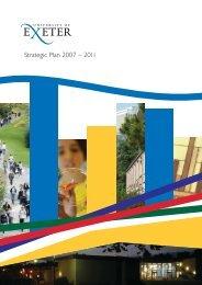 Strategic Plan - University of Exeter