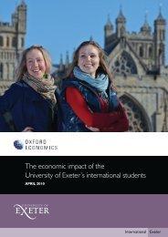 Oxford Economics - University of Exeter