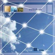 Switch on to renewable energy - University of Exeter