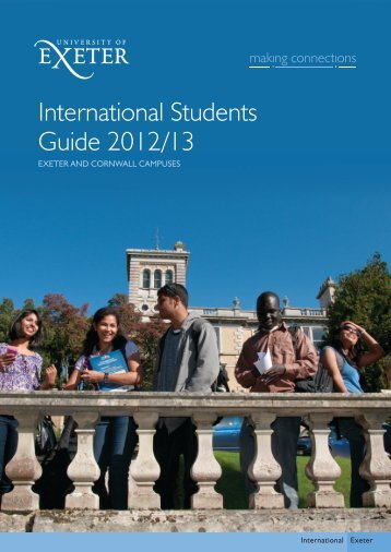 International Students Guide - University of Exeter