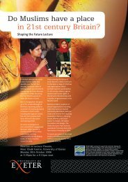 flyer - University of Exeter