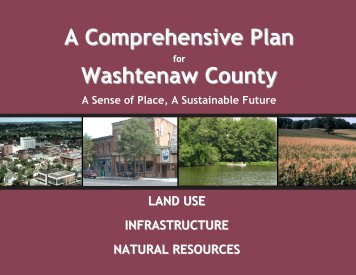 A Comprehensive Plan Washtenaw County - the City of Ann Arbor