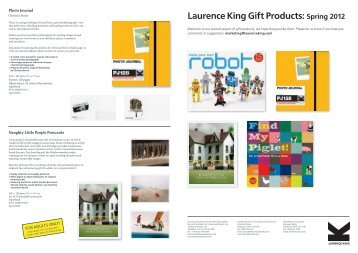 catalogue gifts spring 2012 - exhibitions international