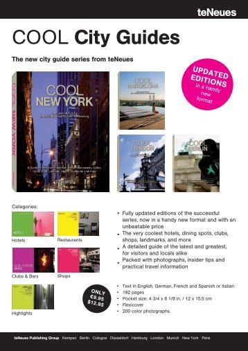 COOL City Guides - exhibitions international