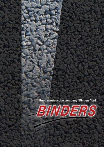 """Road construction company """"Binders"""" Ltd. - EXIM"""