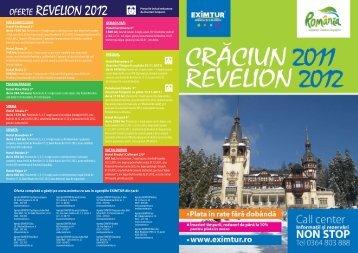 OFERTE REVELION 2012 - Eximtur