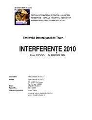 INTERFERENŢE 2010 - Eximtur