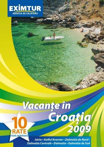 croaţia - Eximtur