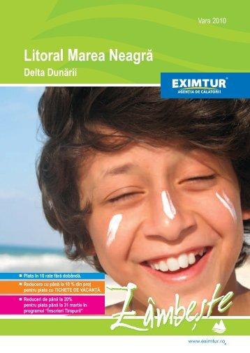 Catalog EXIMTUR – Litoral Marea Neagra 2010