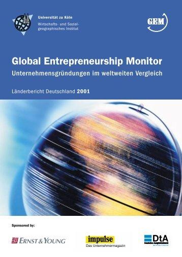 Bericht 2001 - Institut für Wirtschafts- und Kulturgeographie