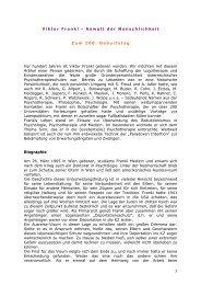 Gedenkartikel Viktor Frankl - Existenzanalyse.ch
