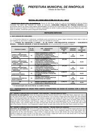 Edital de Concurso Público n. 01/2013 - Exitus Concursos