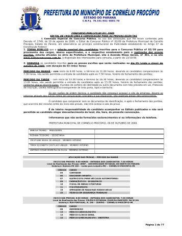 ESTADO DO PARANÁ - exitus consultoria e concursos