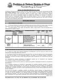 Edital de Concurso Público n. 01/2013 - exitus consultoria e concursos