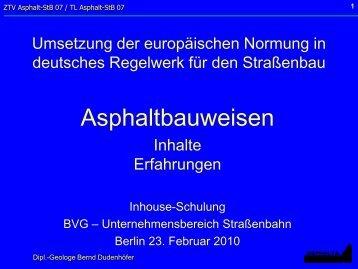 25/02/2010 Regelwerke BVG 10-02 - Asphalta Prüf- und ...