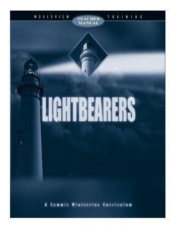 Download a Sample of Lightbearers Teacher's Manual - Rainbow ...