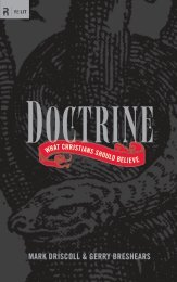 Doctrine: What Christians Should Believe - Mark Driscoll