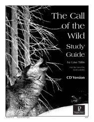 The Call of the Wild - Progeny Press