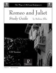 Romeo and juliet main idea