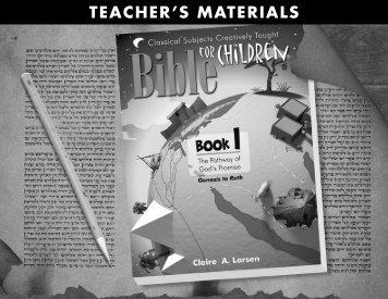 Teacher's Materials - Exodus Books
