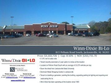 Winn-Dixie Bi-Lo - EXP Realty Advisors