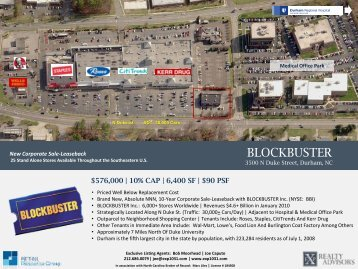 BLOCKBUSTER Video BLOCKBUSTER - EXP Realty Advisors