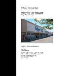 Maysville Marketsquare - EXP Realty Advisors